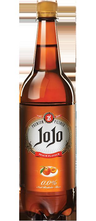 آبجو طعم هلو شیشه 320 میلی لیتر
